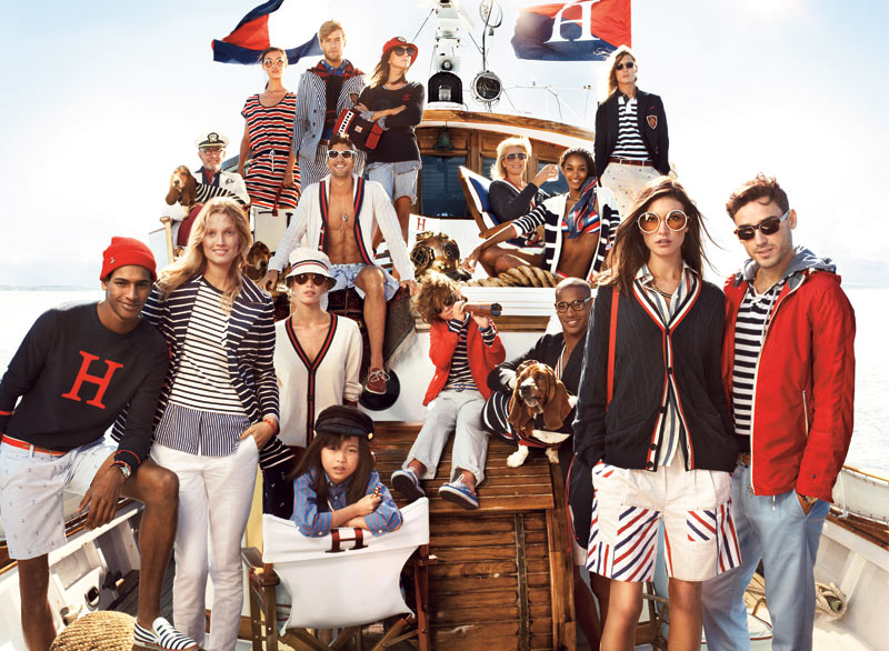 TommySpring1 Tommy Hilfiger Taps Toni Garrn, Jacquelyn Jablonski and Jourdan Dunn for its Spring 2013 Campaign