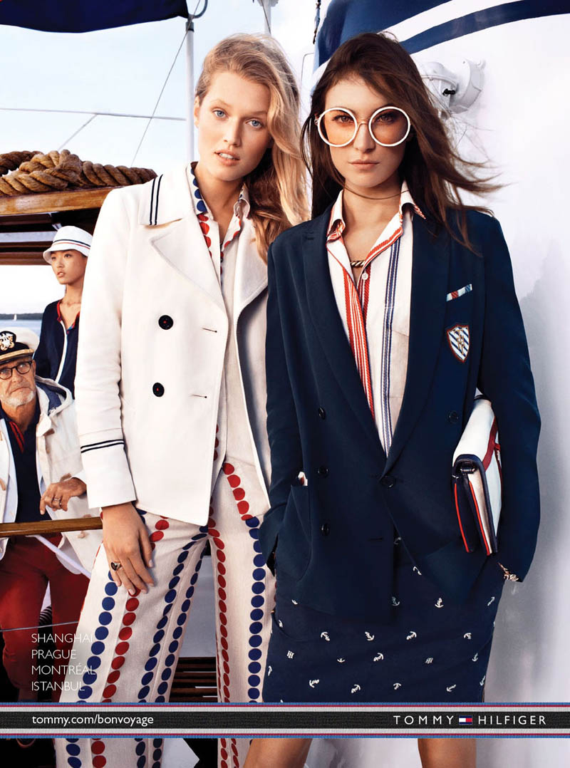 TommySpring2 Tommy Hilfiger Taps Toni Garrn, Jacquelyn Jablonski and Jourdan Dunn for its Spring 2013 Campaign