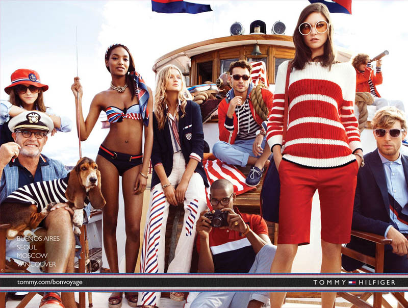 TommySpring4 Tommy Hilfiger Taps Toni Garrn, Jacquelyn Jablonski and Jourdan Dunn for its Spring 2013 Campaign