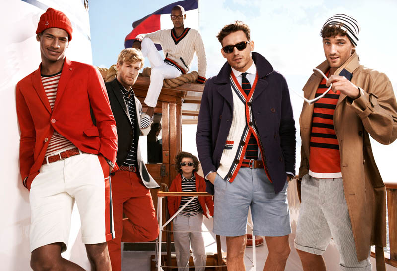 TommySpring5 Tommy Hilfiger Taps Toni Garrn, Jacquelyn Jablonski and Jourdan Dunn for its Spring 2013 Campaign