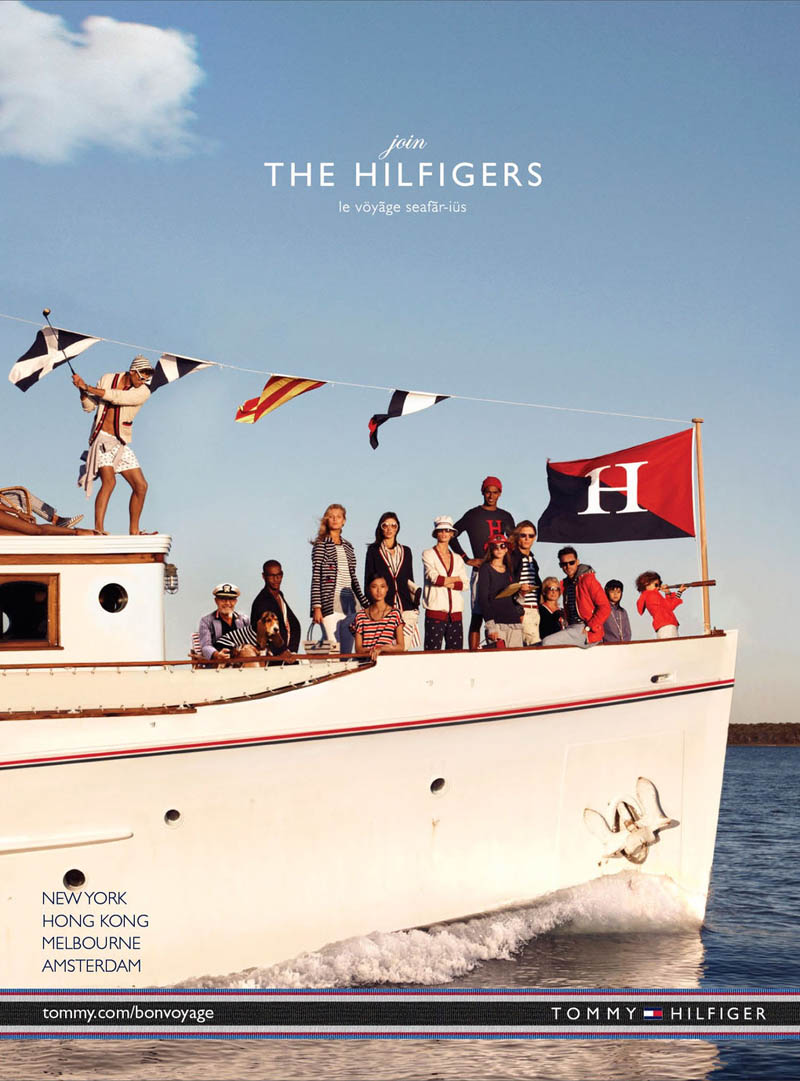 TommySpring6 Tommy Hilfiger Taps Toni Garrn, Jacquelyn Jablonski and Jourdan Dunn for its Spring 2013 Campaign