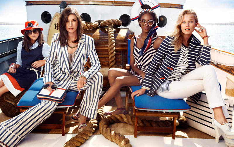 TommySpring7 Tommy Hilfiger Taps Toni Garrn, Jacquelyn Jablonski and Jourdan Dunn for its Spring 2013 Campaign