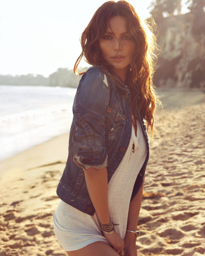 TrueReligion4 Catrinel Menghia Takes to Malibu for True Religion Spring 2013 Campaign by Camilla Akrans