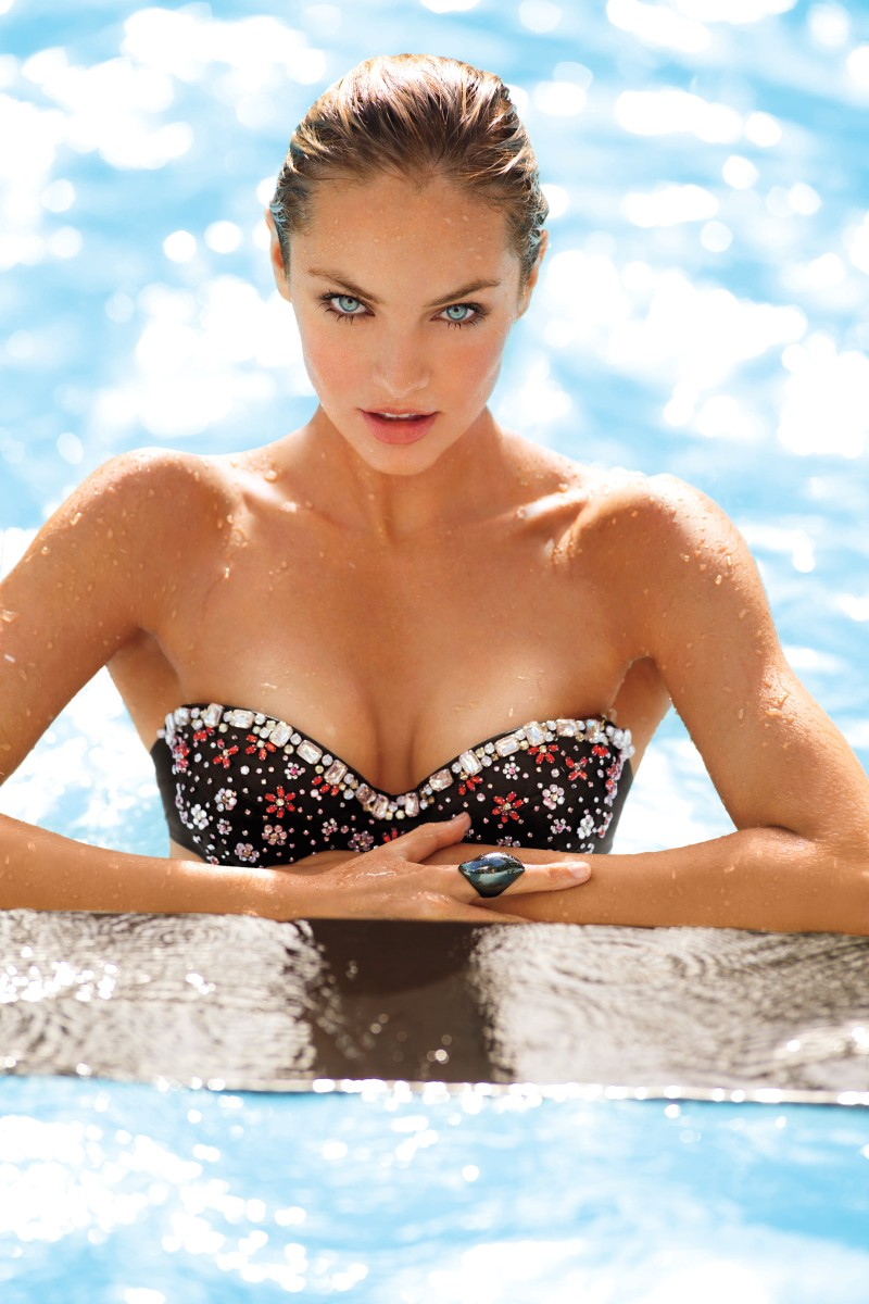 VSSwim1 Candice Swanepoel, Erin Heatherton, Behati Prinsloo and Others Model Victorias Secret Swim 2013 Styles