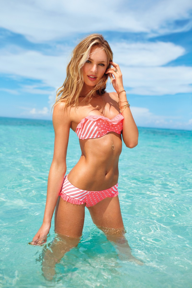 VSSwim10 Candice Swanepoel, Erin Heatherton, Behati Prinsloo and Others Model Victorias Secret Swim 2013 Styles
