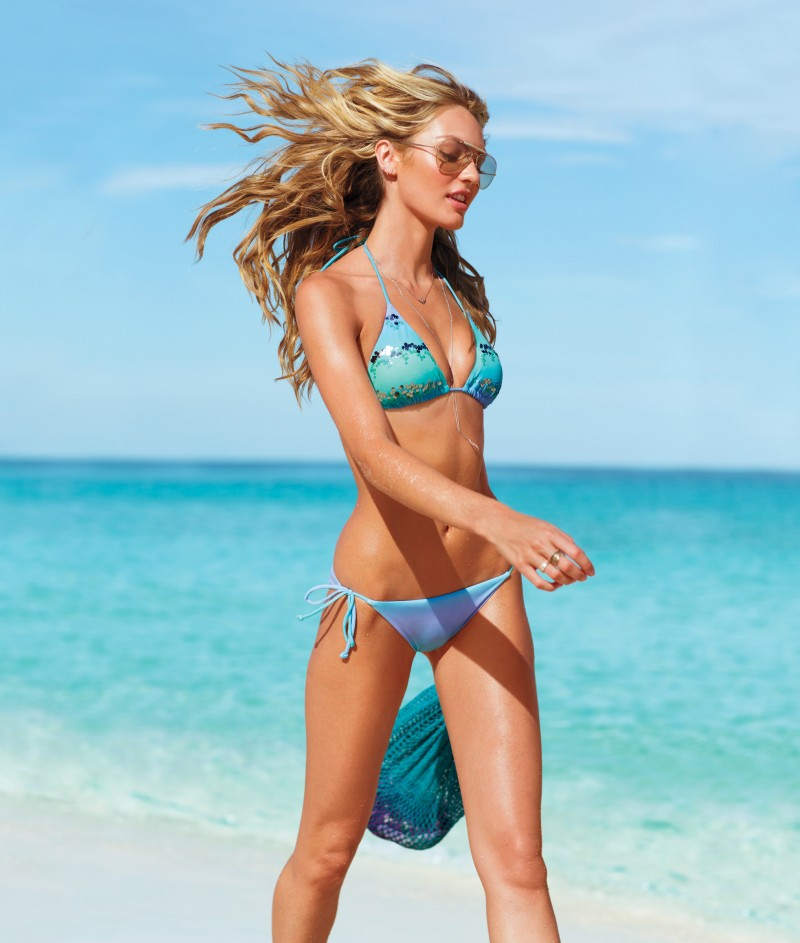 Candice Swanepoel, Erin Heatherton, Behati Prinsloo and Others Model Victoria's Secret Swim 2013 Styles