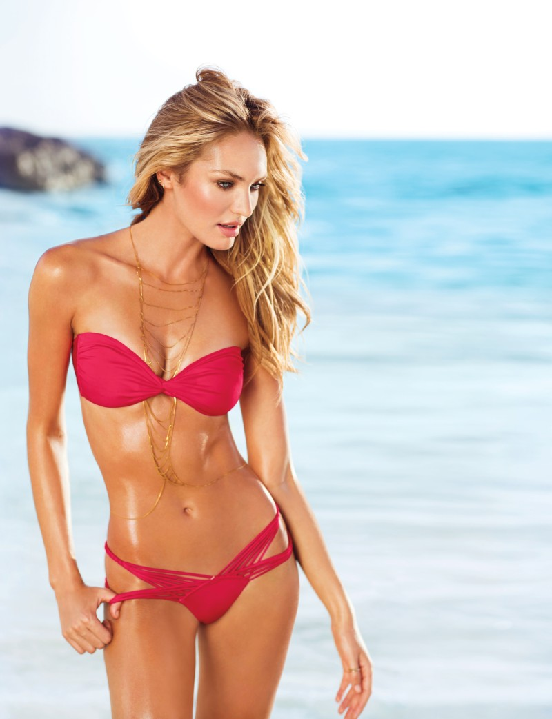 VSSwim2 Candice Swanepoel, Erin Heatherton, Behati Prinsloo and Others Model Victorias Secret Swim 2013 Styles