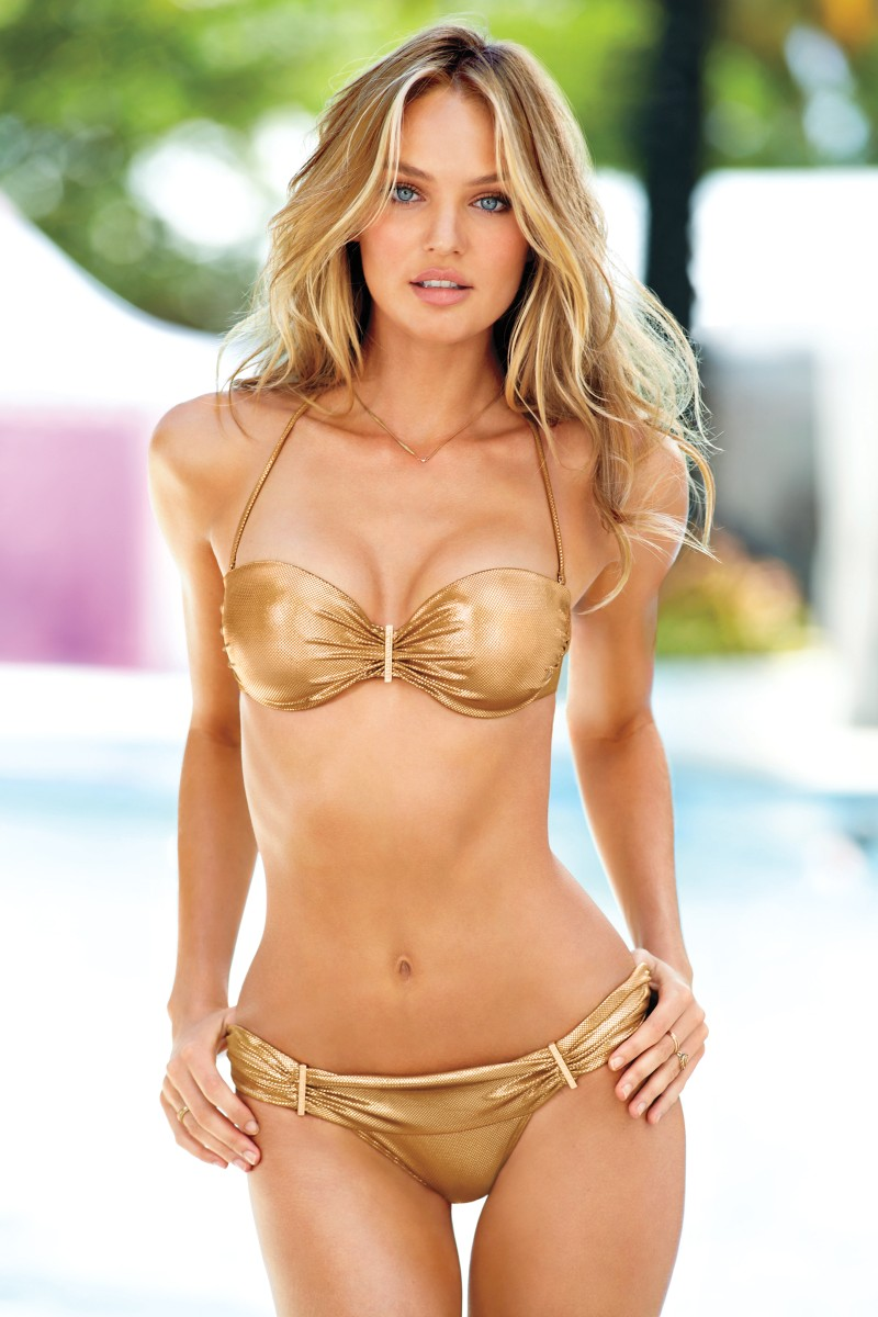 VSSwim5 Candice Swanepoel, Erin Heatherton, Behati Prinsloo and Others Model Victorias Secret Swim 2013 Styles