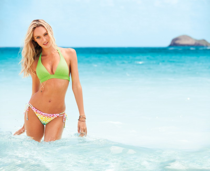 VSSwim7 Candice Swanepoel, Erin Heatherton, Behati Prinsloo and Others Model Victorias Secret Swim 2013 Styles