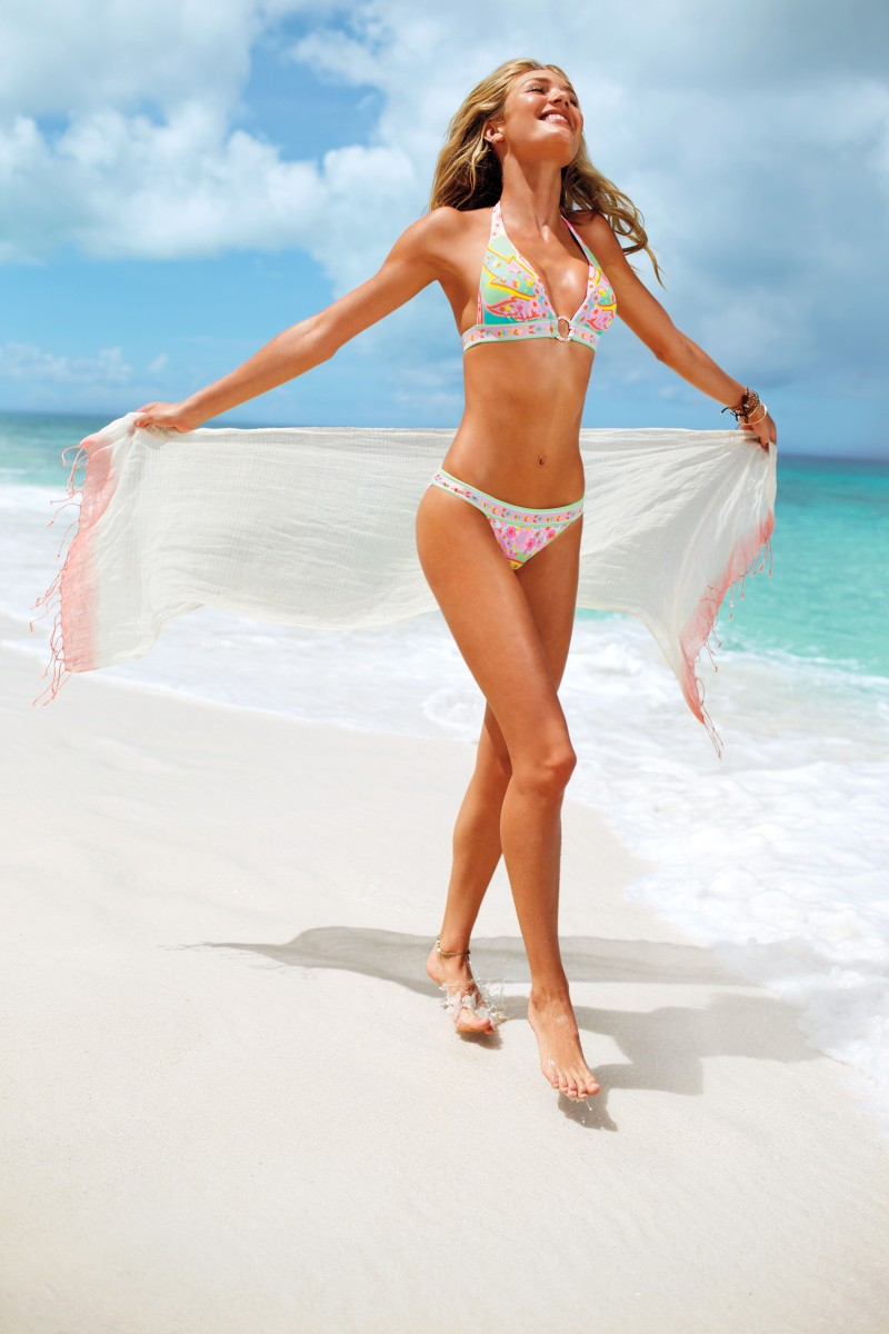 VSSwim9 Candice Swanepoel, Erin Heatherton, Behati Prinsloo and Others Model Victorias Secret Swim 2013 Styles