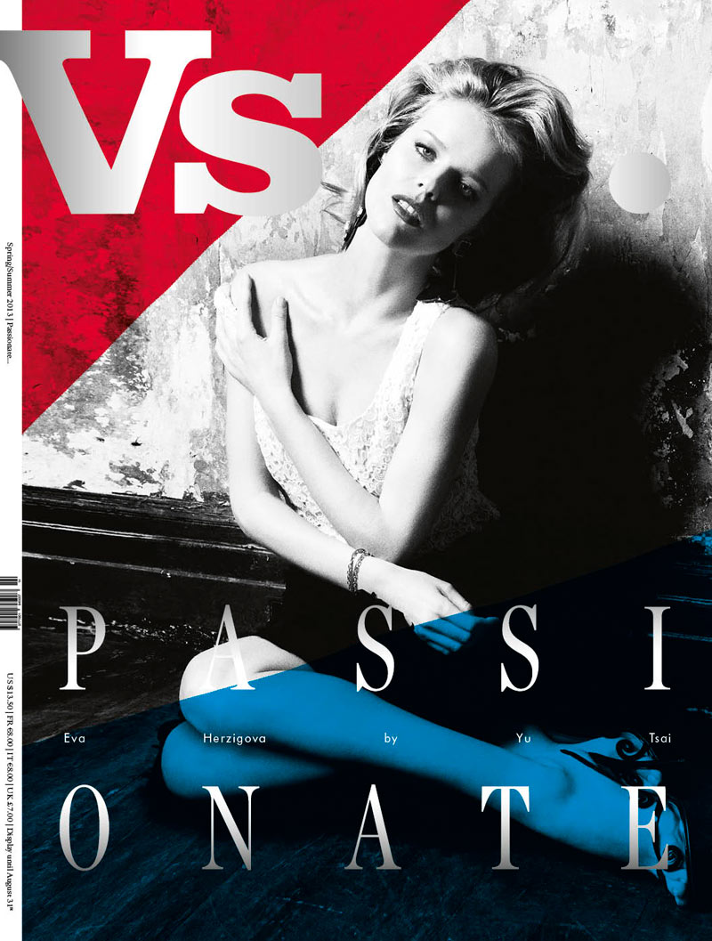VS EvaHerzigova cover Kate Bosworth, January Jones, Anne V, Irina Shayk and Eva Herzigova Cover Vs. Magazine S/S 2013