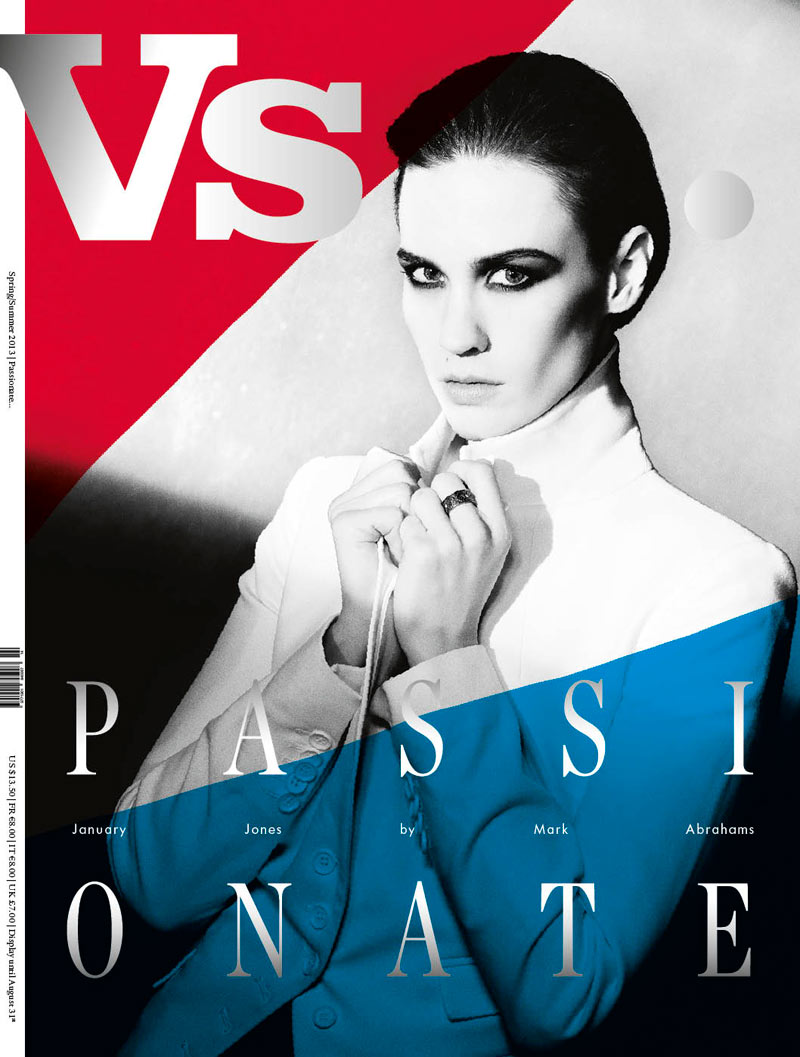 VS JanuaryJones cover Kate Bosworth, January Jones, Anne V, Irina Shayk and Eva Herzigova Cover Vs. Magazine S/S 2013