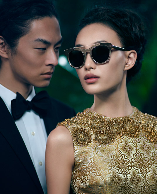 VWSpring5 Shu Pei Gets Romantic for Vera Wangs Spring 2013 Campaign