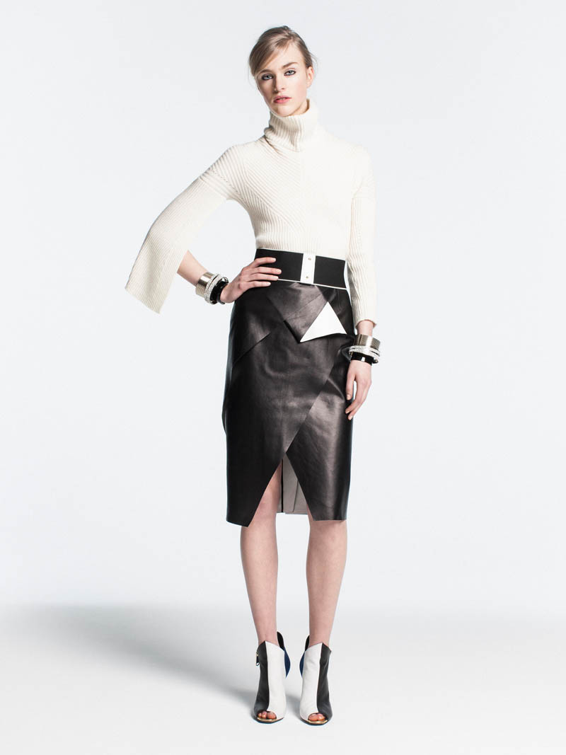 VionnetPF11 Vionnet Showcases Color Blocking Looks for its Pre Fall 2013 Collection