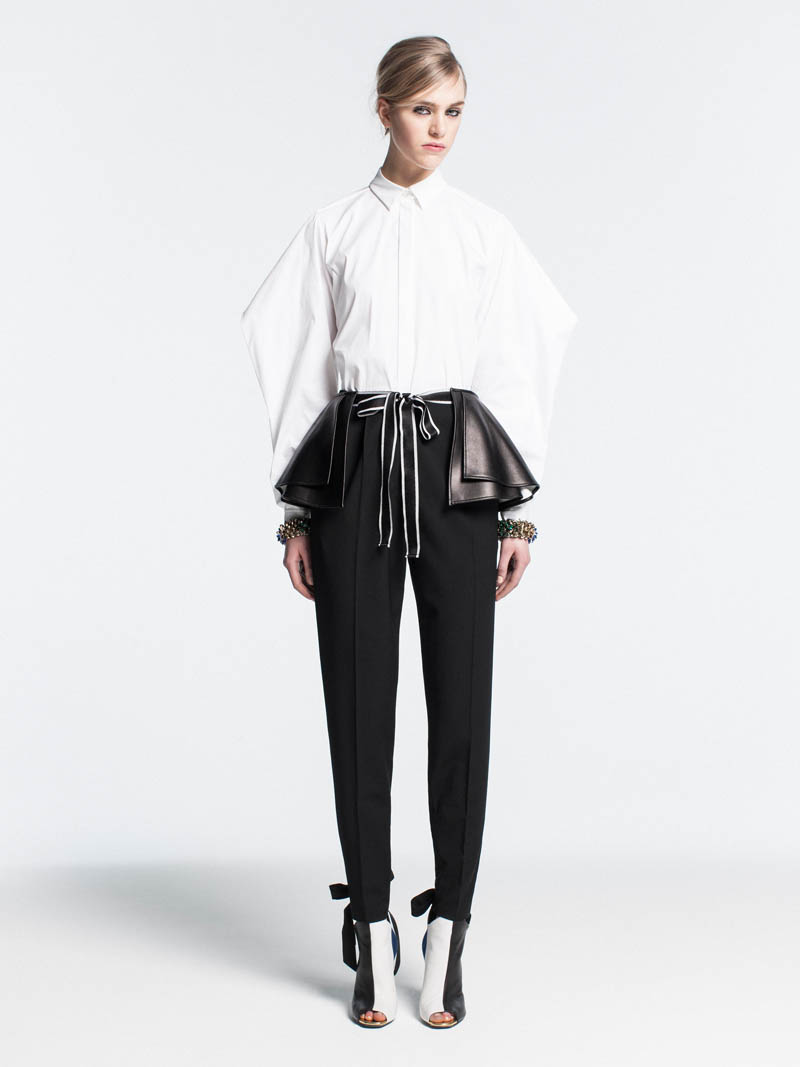 VionnetPF12 Vionnet Showcases Color Blocking Looks for its Pre Fall 2013 Collection
