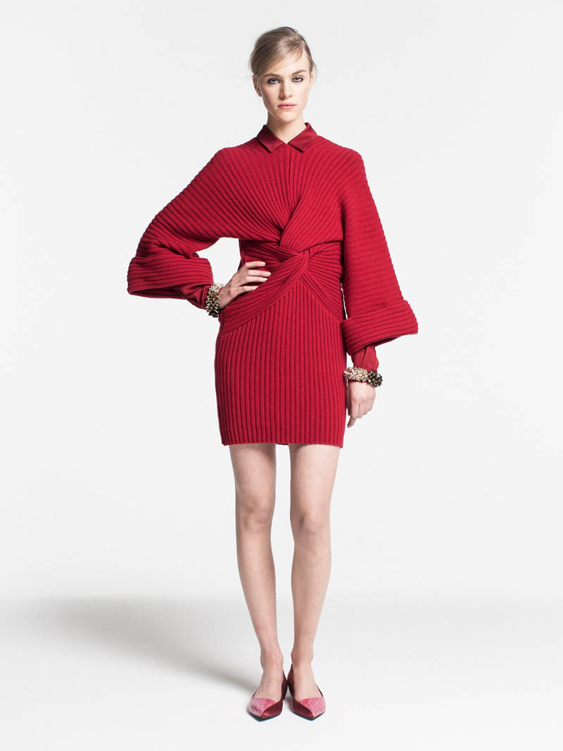 VionnetPF16 Vionnet Showcases Color Blocking Looks for its Pre Fall 2013 Collection