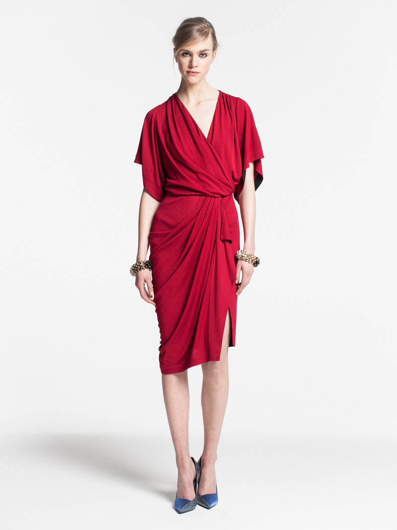 VionnetPF18 Vionnet Showcases Color Blocking Looks for its Pre Fall 2013 Collection