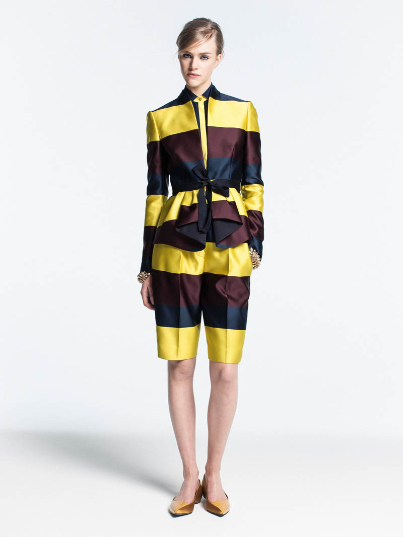 VionnetPF2 Vionnet Showcases Color Blocking Looks for its Pre Fall 2013 Collection