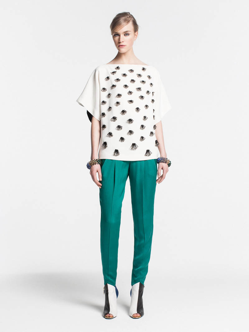 VionnetPF20 Vionnet Showcases Color Blocking Looks for its Pre Fall 2013 Collection