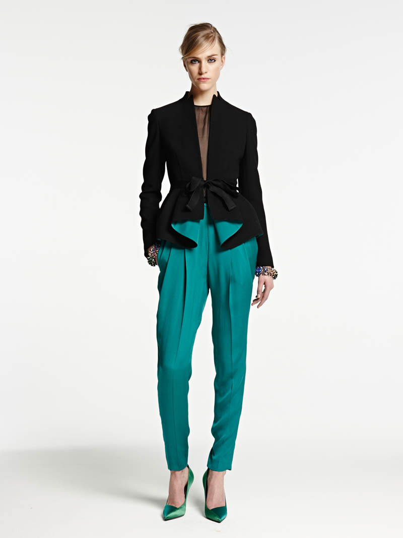 VionnetPF21 Vionnet Showcases Color Blocking Looks for its Pre Fall 2013 Collection
