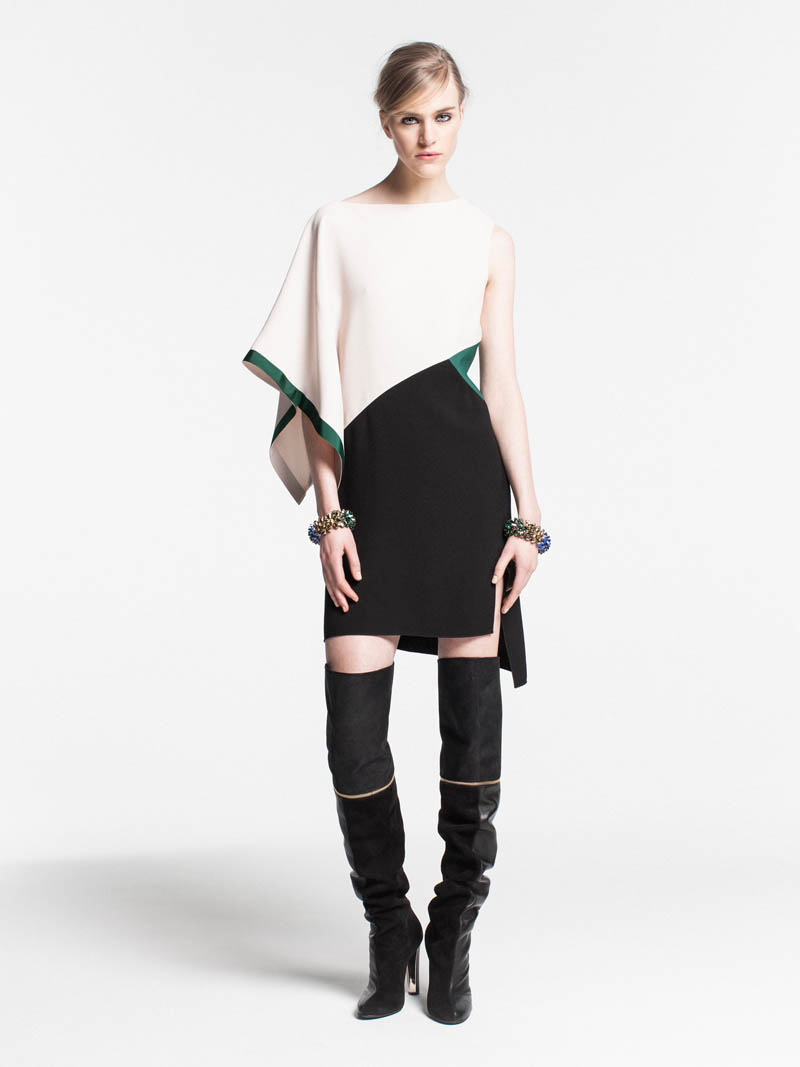 VionnetPF22 Vionnet Showcases Color Blocking Looks for its Pre Fall 2013 Collection