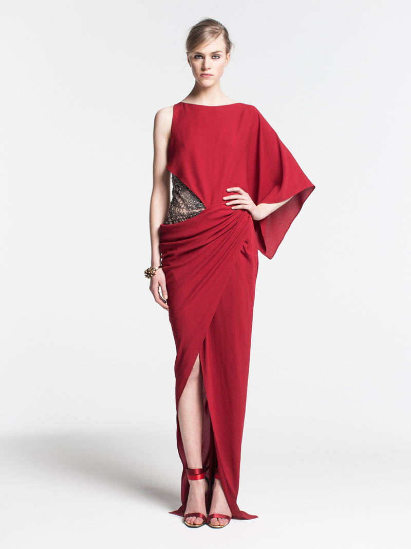VionnetPF25 Vionnet Showcases Color Blocking Looks for its Pre Fall 2013 Collection