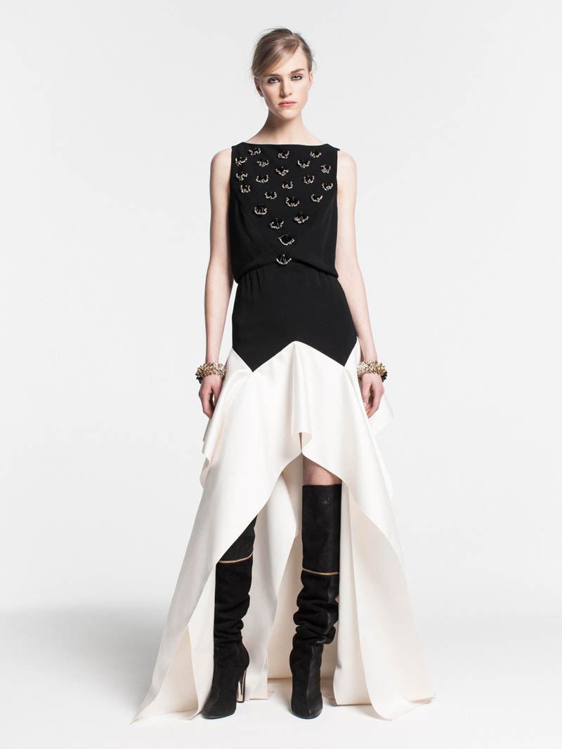 VionnetPF29 Vionnet Showcases Color Blocking Looks for its Pre Fall 2013 Collection
