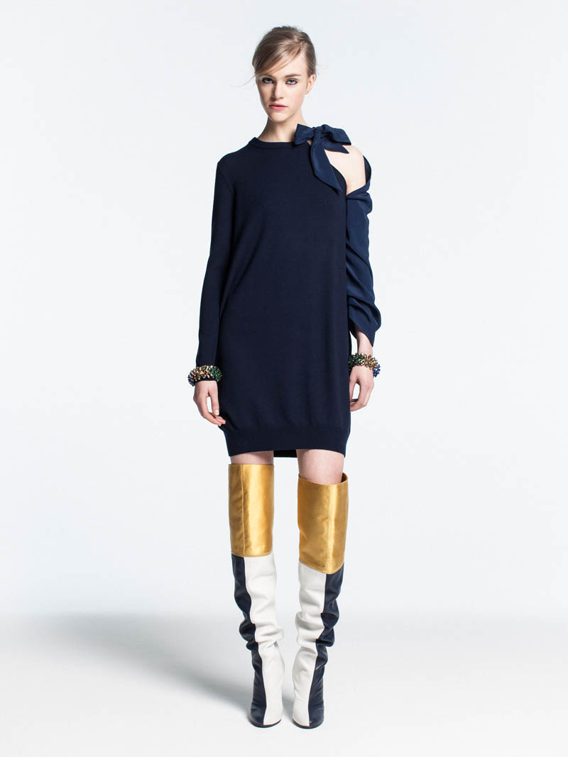 VionnetPF4 Vionnet Showcases Color Blocking Looks for its Pre Fall 2013 Collection