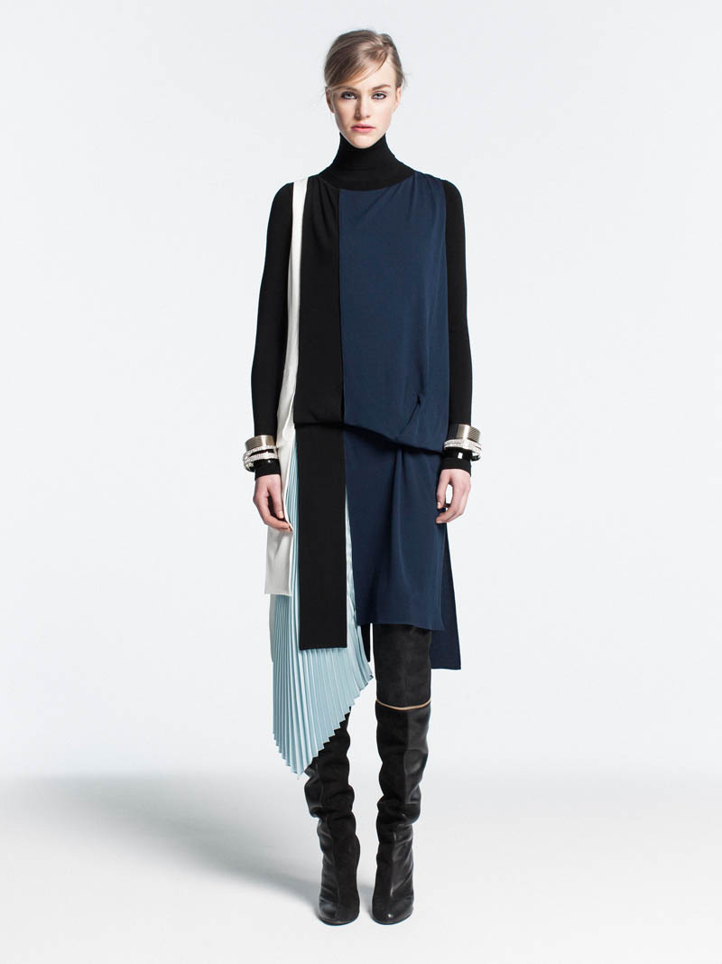 VionnetPF7 Vionnet Showcases Color Blocking Looks for its Pre Fall 2013 Collection