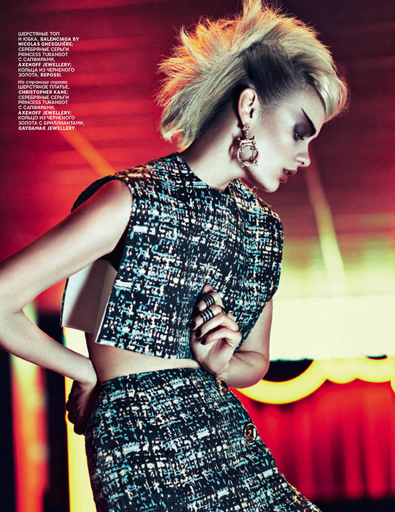 VogueAsia5 Stef Van der Laan Poses for Sebastian Kim in Vogue Russias February Issue