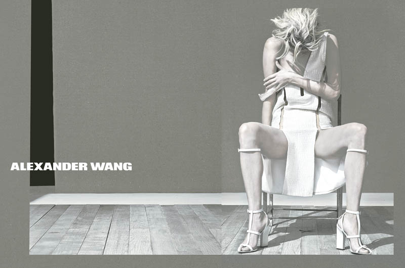 WangSS3 Malgosia Bela Stars in Alexander Wangs Spring 2013 Campaign by Steven Klein