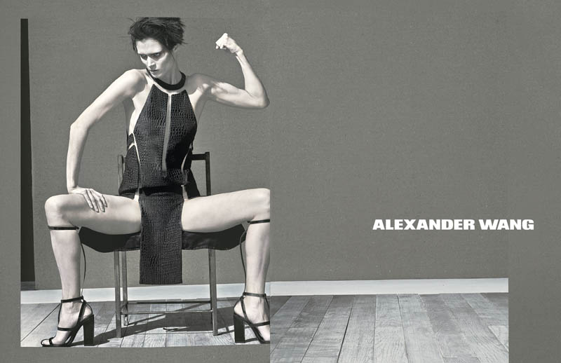 WangSS4 Malgosia Bela Stars in Alexander Wangs Spring 2013 Campaign by Steven Klein