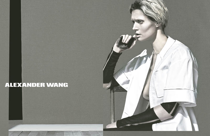Malgosia Bela Stars in Alexander Wang's Spring 2013 Campaign by Steven Klein