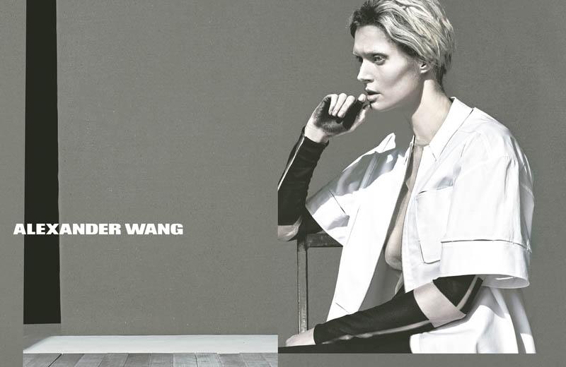 WangSS5 Malgosia Bela Stars in Alexander Wangs Spring 2013 Campaign by Steven Klein