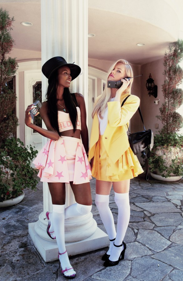 WildfoxClueless3 Wildfox Channels 90s Classic Clueless for S/S 2013 Collection