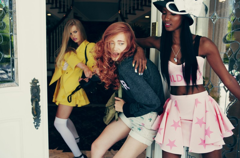WildfoxClueless4 Wildfox Channels 90s Classic Clueless for S/S 2013 Collection