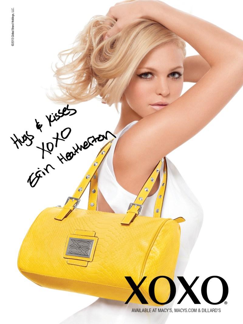 XOXOSpring10 Erin Heatherton Gets Glam for XOXOs Spring 2013 Campaign