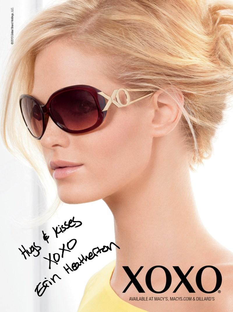 XOXOSpring11 Erin Heatherton Gets Glam for XOXOs Spring 2013 Campaign