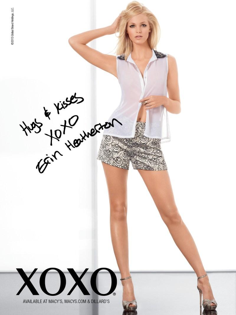 XOXOSpring6 Erin Heatherton Gets Glam for XOXOs Spring 2013 Campaign