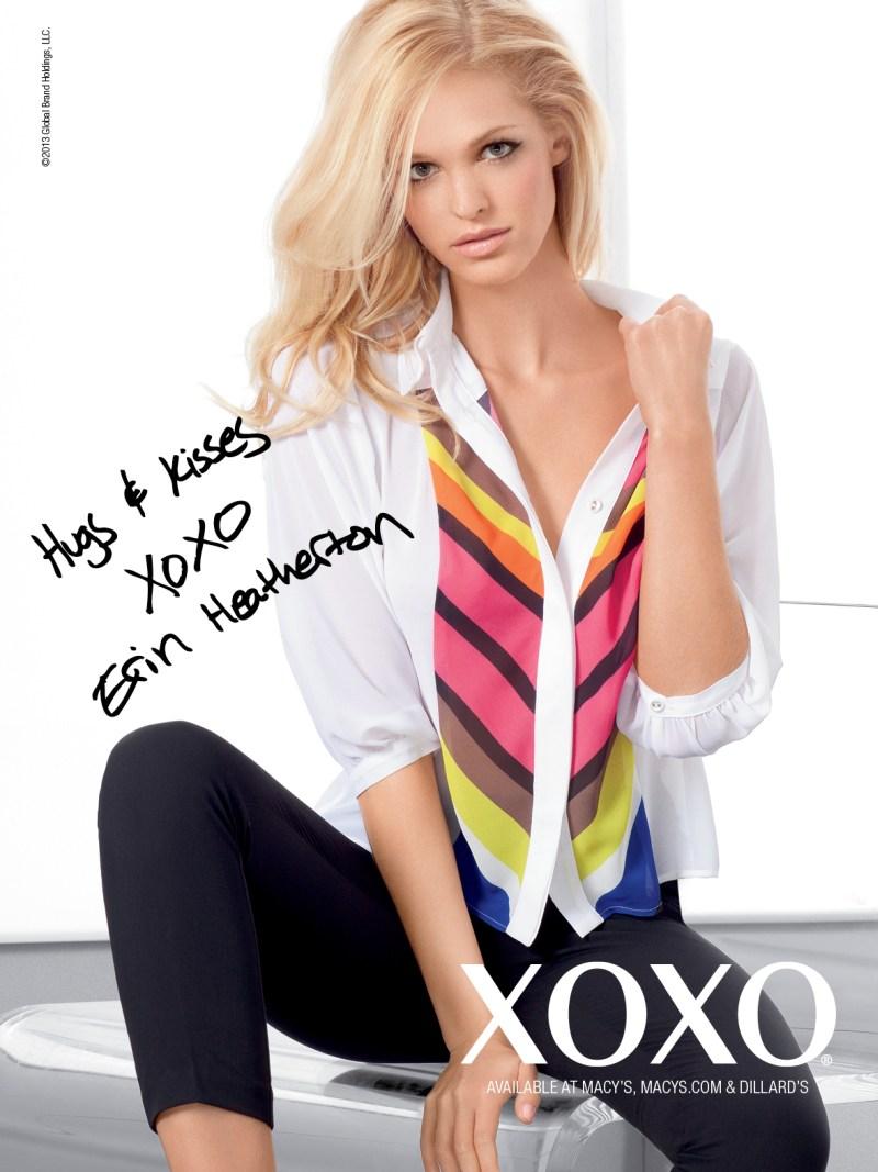 XOXOSpring9 Erin Heatherton Gets Glam for XOXOs Spring 2013 Campaign