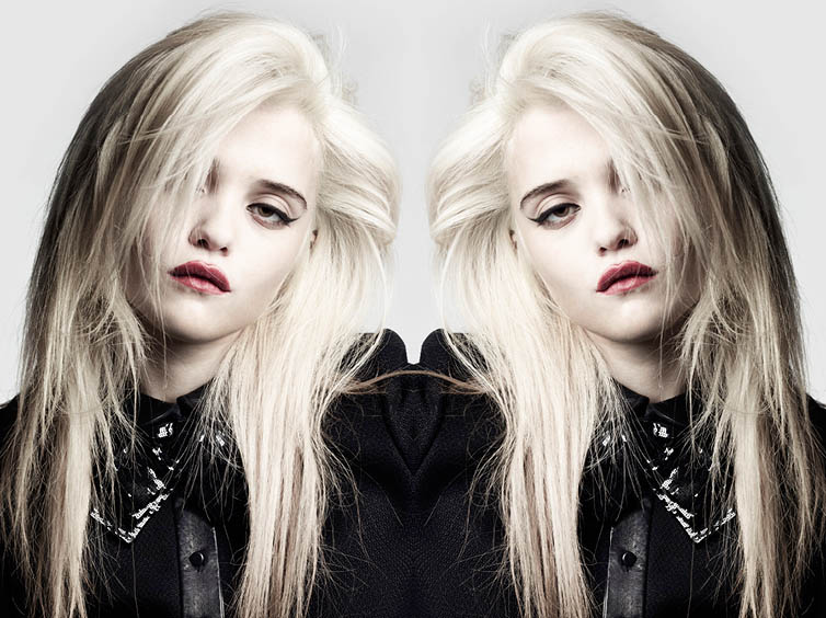 YSLPF18 Sky Ferreira Models Saint Laurents Pre Fall 2013 Collection by Hedi Slimane