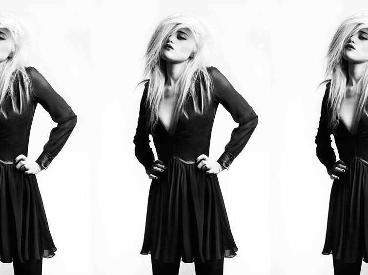 YSLPF19 Sky Ferreira Models Saint Laurents Pre Fall 2013 Collection by Hedi Slimane