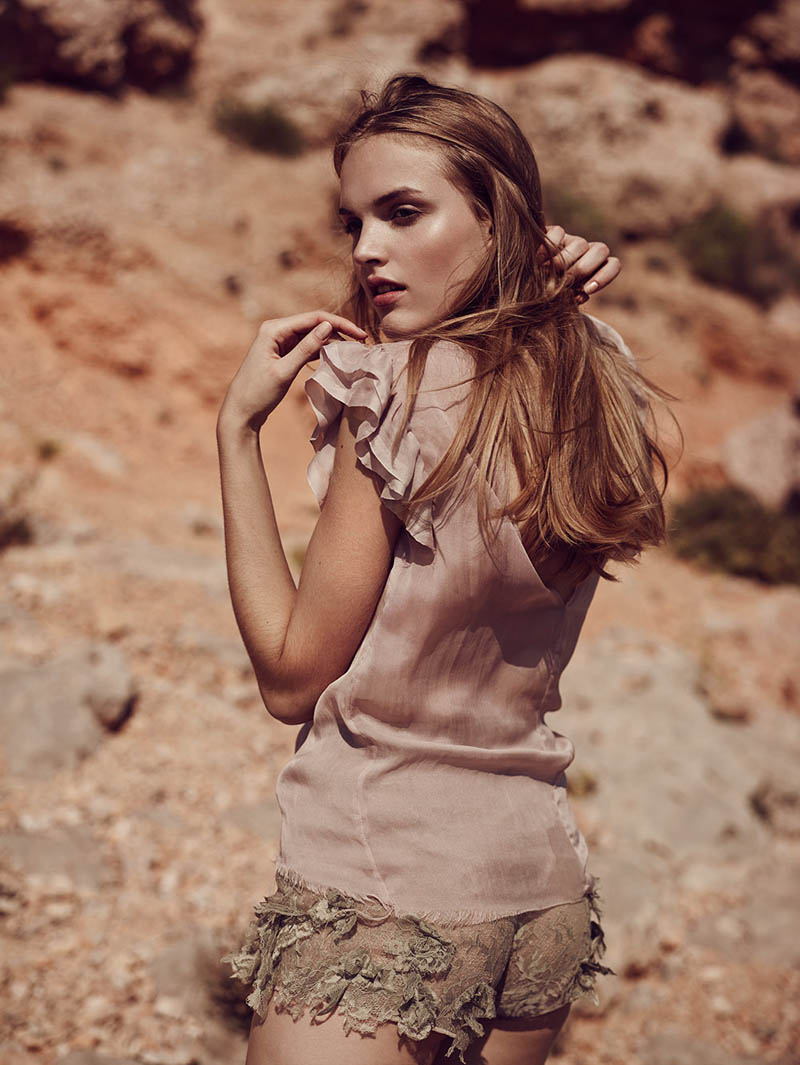 ania4 Ania Yudina by David Cohen de Lara in Neutral State for Fashion Gone Rogue