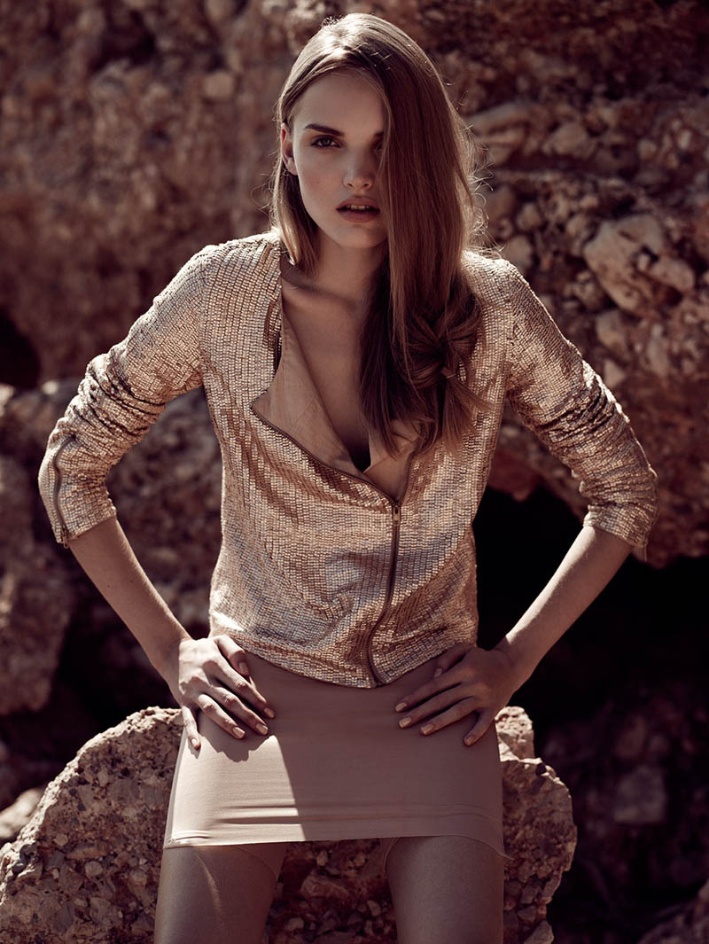 ania7 Ania Yudina by David Cohen de Lara in Neutral State for Fashion Gone Rogue