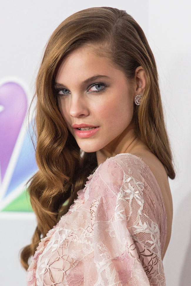 barbara1 Barbara Palvin in Chanel Haute Couture at NBC Universals 2013 Golden Globes After Party