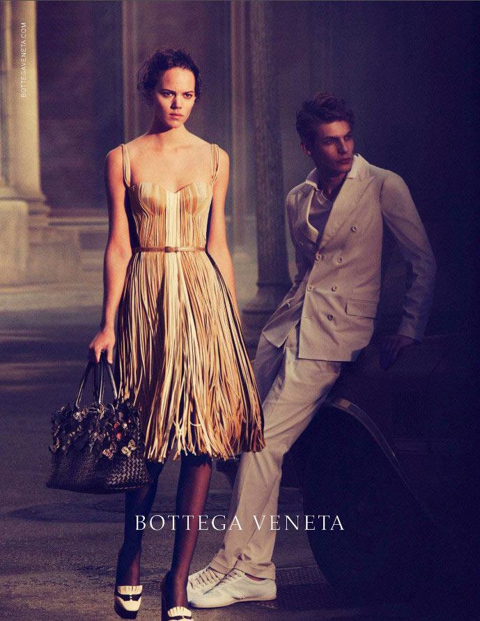 bottega Freja Beha Erichsen Stars in Bottega Veneta Spring 2013 Campaign by Peter Lindbergh
