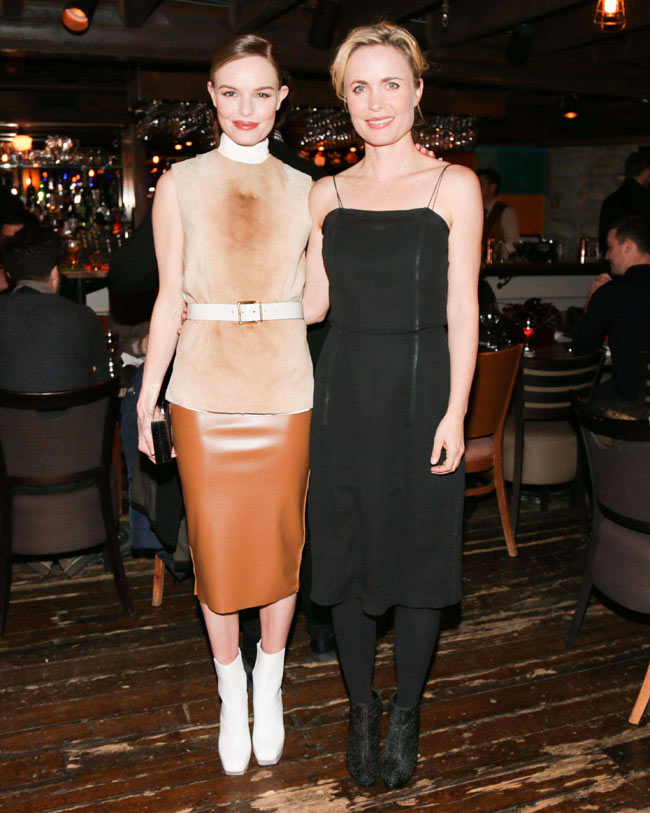 calvin klein1 Kate Bosworth in Calvin Klein Collection at Big Sur Dinner