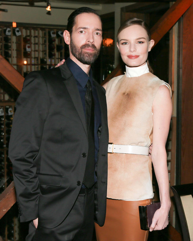 calvin klein2 Kate Bosworth in Calvin Klein Collection at Big Sur Dinner