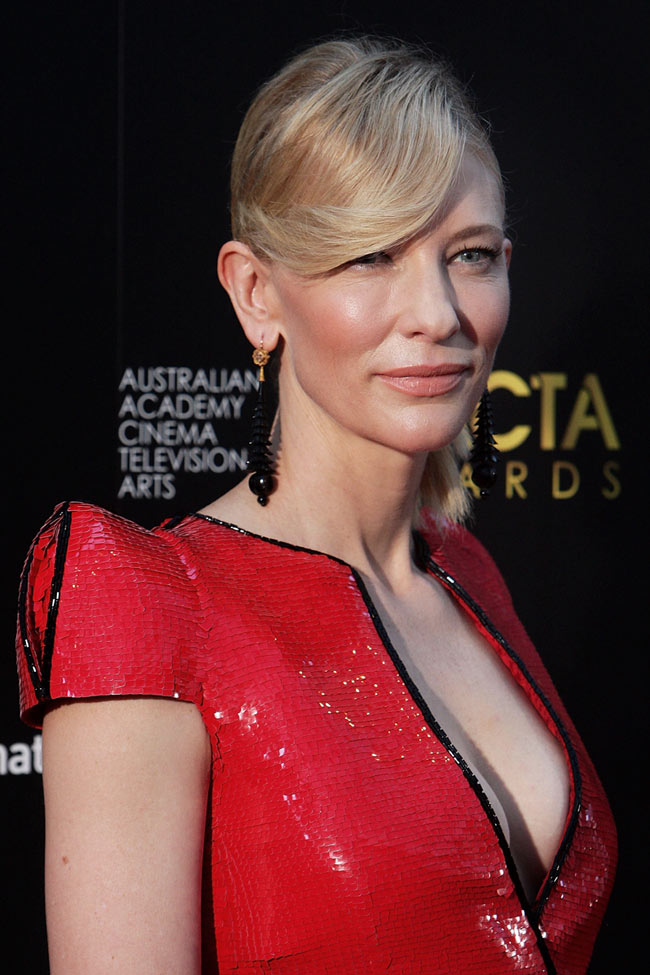 cate3 Cate Blanchett in Armani Prive at the 2nd Annual AACTA Awards