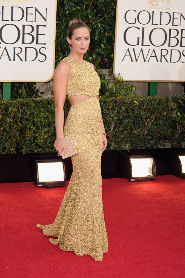 globes13 Anne Hathaway in Chanel, Megan Fox in Dolce & Gabbana, Amanda Seyfried in Givenchy and More Stars at the 70th Annual Golden Globe Awards
